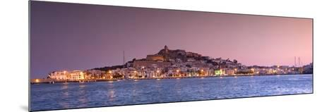 Spain, Balearic Islands, Ibiza, View of Ibiza Old Town (UNESCO Site), and Dalt Vila-Michele Falzone-Mounted Photographic Print
