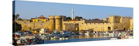 St. Catherine's Gate, Rhodes Town, Rhodes, Greece-Doug Pearson-Stretched Canvas Print