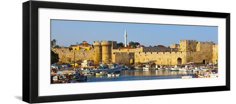 St. Catherine's Gate, Rhodes Town, Rhodes, Greece-Doug Pearson-Framed Art Print