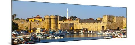 St. Catherine's Gate, Rhodes Town, Rhodes, Greece-Doug Pearson-Mounted Photographic Print