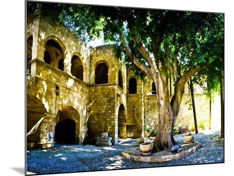 Medieval Architecture, Rhodes Town, Rhodes, Greece-Doug Pearson-Mounted Photographic Print