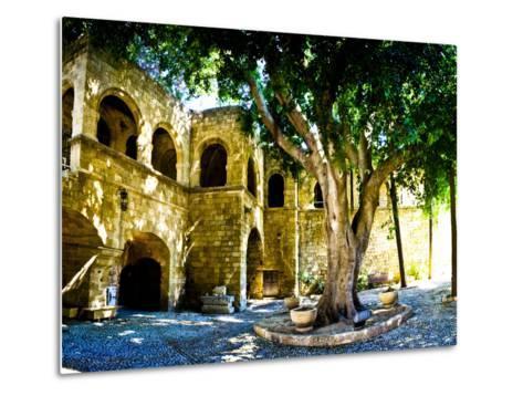 Medieval Architecture, Rhodes Town, Rhodes, Greece-Doug Pearson-Metal Print