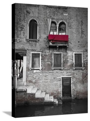 Venetian Building, Venice, Italy-Jon Arnold-Stretched Canvas Print