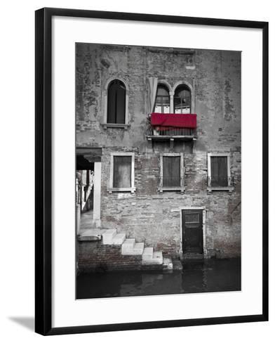 Venetian Building, Venice, Italy-Jon Arnold-Framed Art Print