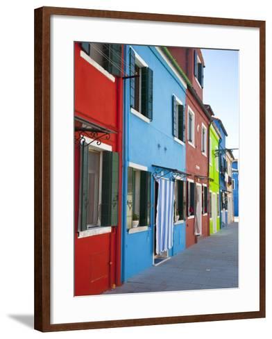 Burano, Venice, Italy-Jon Arnold-Framed Art Print