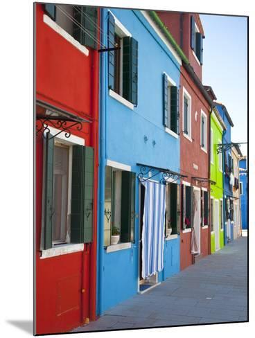 Burano, Venice, Italy-Jon Arnold-Mounted Photographic Print