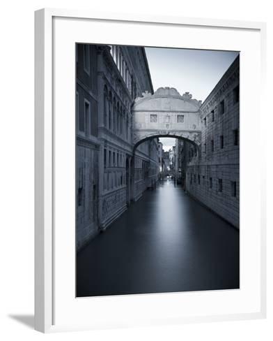 Bridge of Sighs, Doge's Palace, Venice, Italy-Jon Arnold-Framed Art Print
