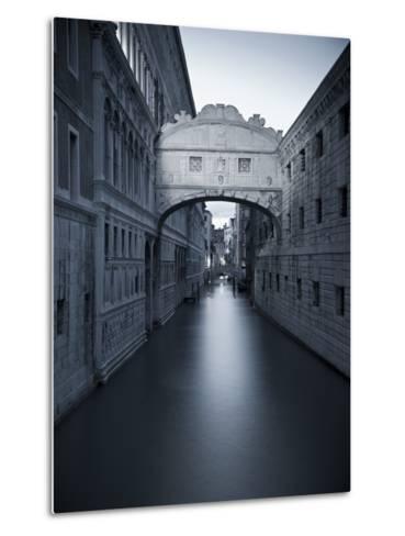 Bridge of Sighs, Doge's Palace, Venice, Italy-Jon Arnold-Metal Print