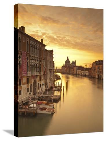Santa Maria Della Salute, Grand Canal, Venice, Italy-Jon Arnold-Stretched Canvas Print