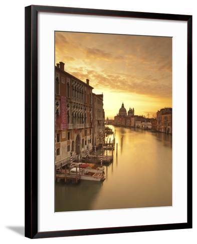 Santa Maria Della Salute, Grand Canal, Venice, Italy-Jon Arnold-Framed Art Print