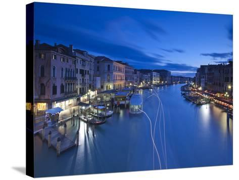 Grand Canal from the Rialto, Venice, Italy-Jon Arnold-Stretched Canvas Print