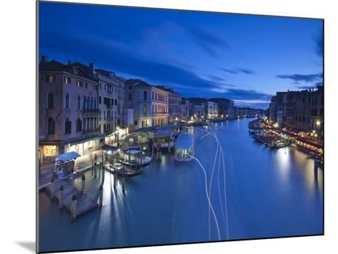 Grand Canal from the Rialto, Venice, Italy-Jon Arnold-Mounted Photographic Print