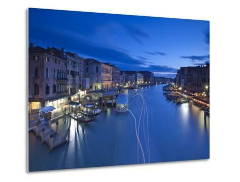 Grand Canal from the Rialto, Venice, Italy-Jon Arnold-Metal Print
