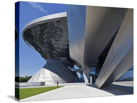 Main Entrance to BMW Welt (BMW World) , Multi-Functional Customer Experience and Exhibition Facilit-Cahir Davitt-Stretched Canvas Print