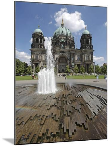 The Berlin Cathedral (Berliner Dom) in the Centre of Berlin on a Summer's Day-David Bank-Mounted Photographic Print