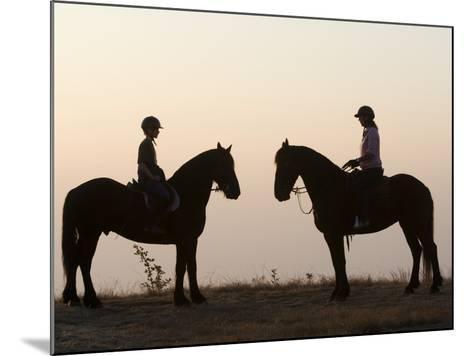 Malawi, Zomba Plateau, a Horse Riding Safari Is a Popular Way to Explore Zomba Plateau, (MR)-John Warburton-lee-Mounted Photographic Print