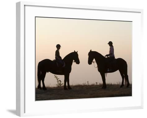 Malawi, Zomba Plateau, a Horse Riding Safari Is a Popular Way to Explore Zomba Plateau, (MR)-John Warburton-lee-Framed Art Print