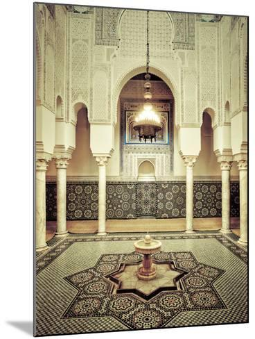 Morocco, Meknes, Medina (Old Town), Moulay Ismal Mausoleum-Michele Falzone-Mounted Photographic Print
