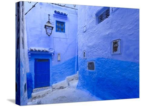 Morocco, Rif Mountains, Chefchaouen, Medina-Michele Falzone-Stretched Canvas Print