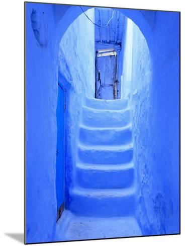 Morocco, Rif Mountains, Chefchaouen, Medina-Michele Falzone-Mounted Photographic Print