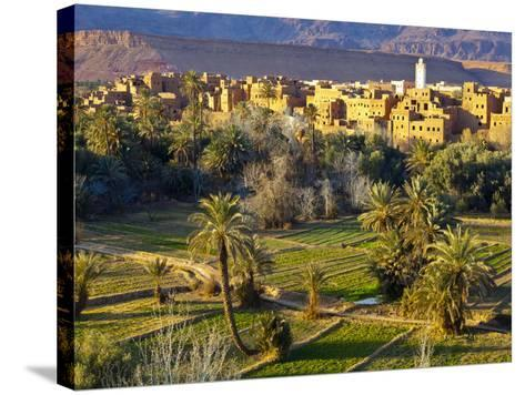 Tinerhir, Atlas Mountains, Morocco-Doug Pearson-Stretched Canvas Print