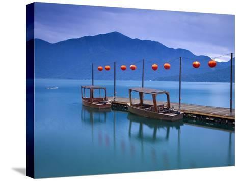 Taiwan, Nantou, Sun Moon Lake, Hanbi Peninsula, Late President Chiang Kai-Shek's Private Wharf-Jane Sweeney-Stretched Canvas Print