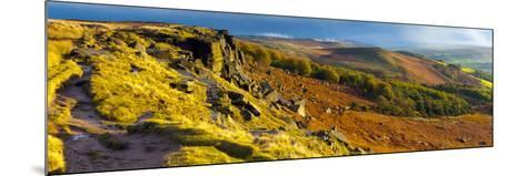 UK, England, Derbyshire, Peak District National Park, Stanage Edge-Alan Copson-Mounted Photographic Print