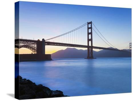 Golden Gate Bridge, San Francisco, California, USA-Gavin Hellier-Stretched Canvas Print