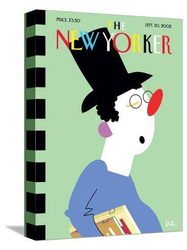 The New Yorker Cover - September 30, 2002-Bob Zoell (HA)-Stretched Canvas Print