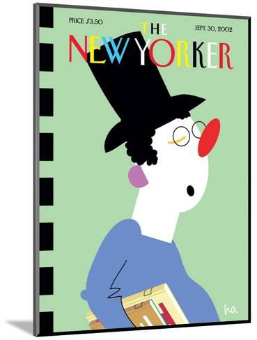 The New Yorker Cover - September 30, 2002-Bob Zoell (HA)-Mounted Premium Giclee Print