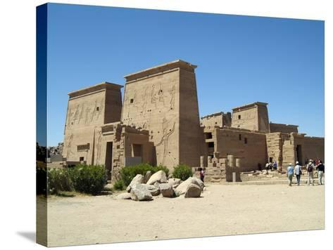 Temple of Isis, Philae, Aswan, Egypt-Gary Cook-Stretched Canvas Print