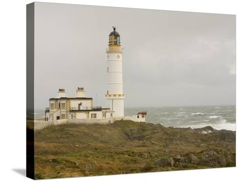 The Lighthouse on Corsewall Point on the Rhins of Galloway, Scotland, UK-Ashley Cooper-Stretched Canvas Print