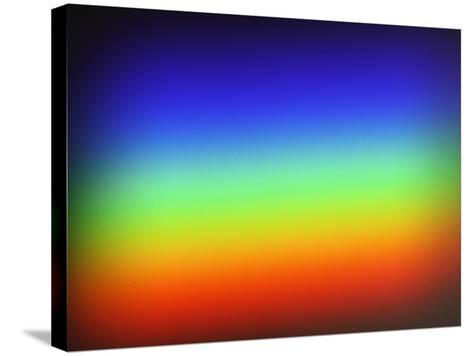 Spectrum of Sunlight-Jeff Daly-Stretched Canvas Print