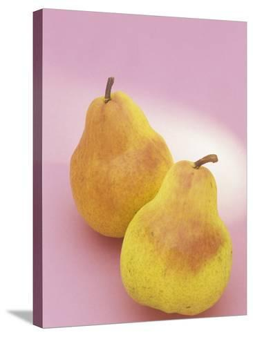 Bartlett Pears (Pyrus Communis)-Wally Eberhart-Stretched Canvas Print