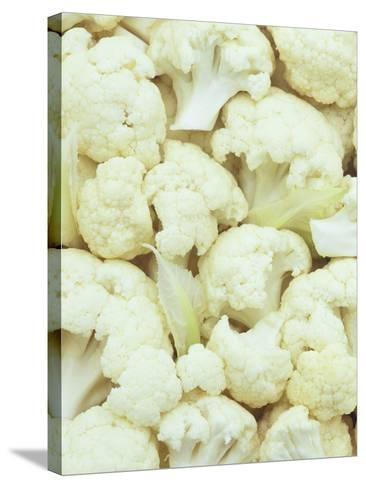 Pieces of Crunchy, Nutritious Cauliflower(Brassica Oleracea)-Wally Eberhart-Stretched Canvas Print