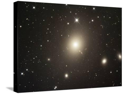 M87 (NGC 4486) Elliptical Galaxy in Virgo-Robert Gendler-Stretched Canvas Print