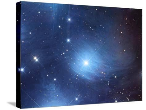 The Merope Nebulosity and Ic 349-Robert Gendler-Stretched Canvas Print