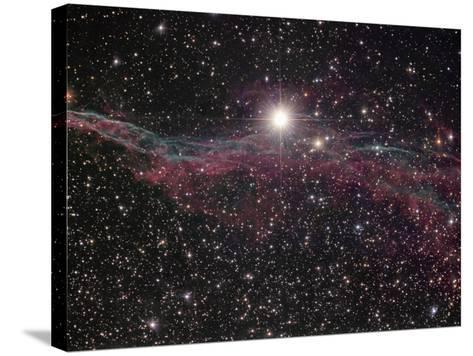 NGC 6960, the Witch's Broom Nebula in Cygnus-Robert Gendler-Stretched Canvas Print