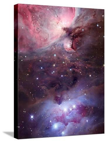 The Sword Region of the Constellation Orion, the Hunter-Robert Gendler-Stretched Canvas Print