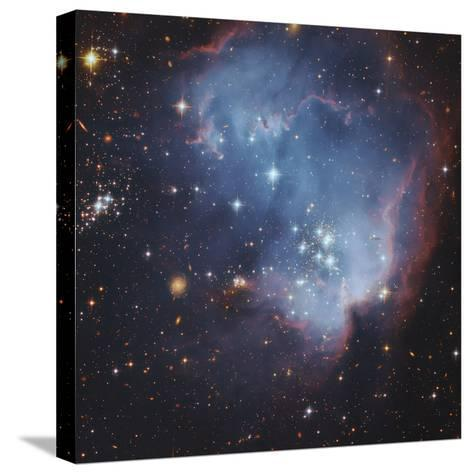 NGC 602 and Beyond Near the Outskirts of the Small Magellanic Cloud-Robert Gendler-Stretched Canvas Print