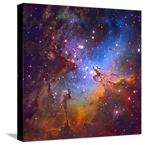 M16 (NGC 6611) the Eagle Nebulis 7000 Light Years Away-Robert Gendler-Stretched Canvas Print