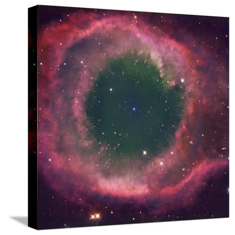 NGC 7293, the Helix Nebula Is the Nearest Planetary Nebula to Our Sun-Robert Gendler-Stretched Canvas Print