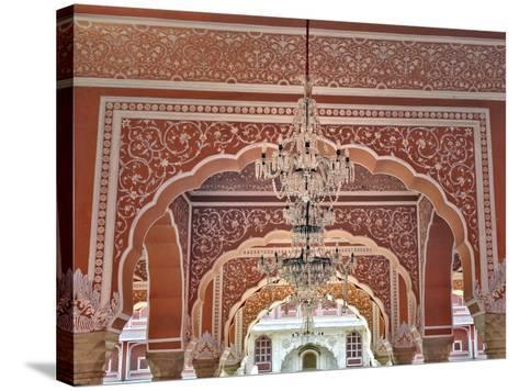 City Palace, Jaipur, India-Adam Jones-Stretched Canvas Print
