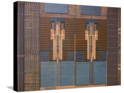 Micrograph of a Computer Microprocessor, LM X200-Robert Markus-Stretched Canvas Print