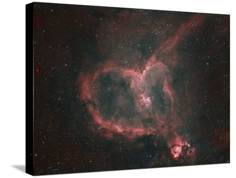 Ic1805, the Heart Nebula-Matthew Russell-Stretched Canvas Print