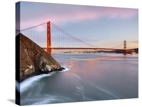 Golden Gate Bridge, San Francisco, California, USA-Patrick Smith-Stretched Canvas Print