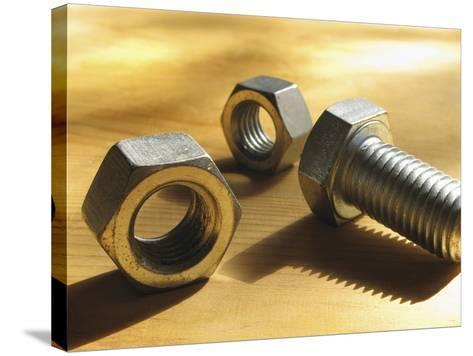 Nuts and Bolts-Carol & Mike Werner-Stretched Canvas Print