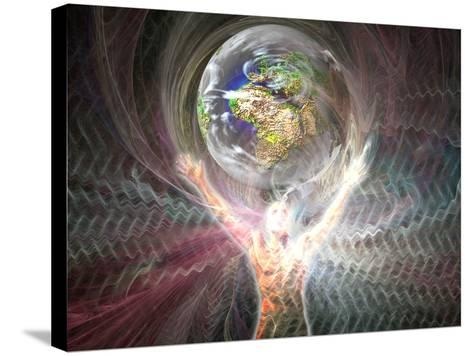 Man's Relationship to the Earth-Carol & Mike Werner-Stretched Canvas Print