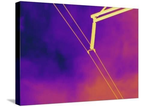 Thermogram - High Voltage Power Line-Scientifica-Stretched Canvas Print