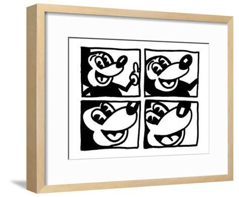 Untitled 1981-Keith Haring-Framed Art Print